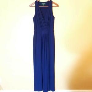 RALPH LAUREN EVENING | Evening Maxi Gown 6 Blue